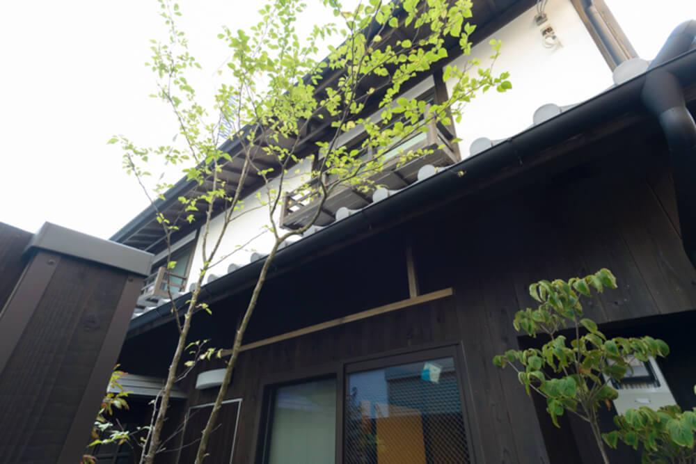 純和風の木造住宅