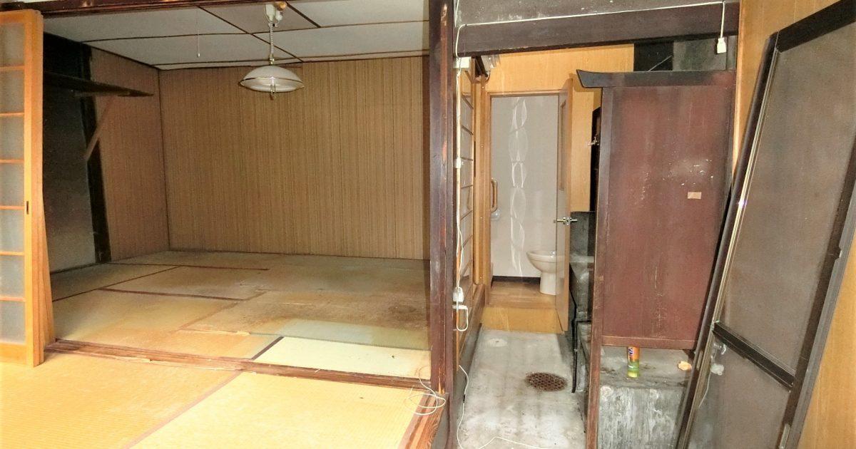 上京区_路地奥にある再建不可物件