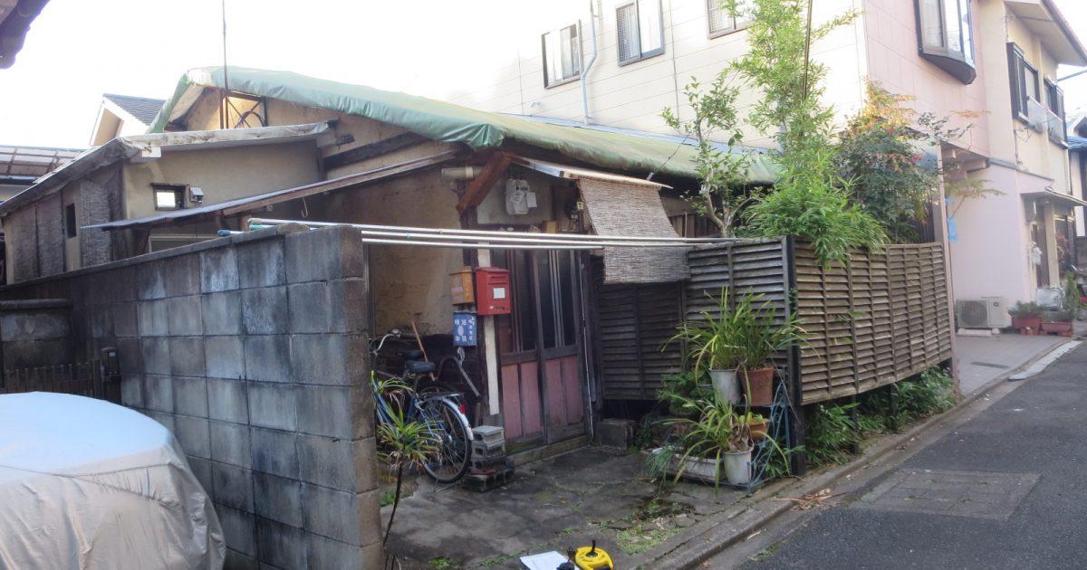 上京区_幅員2.8mの日本家屋(築年数不詳)