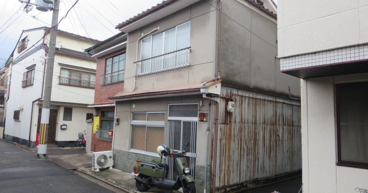 中京区_狭小角地の京町家