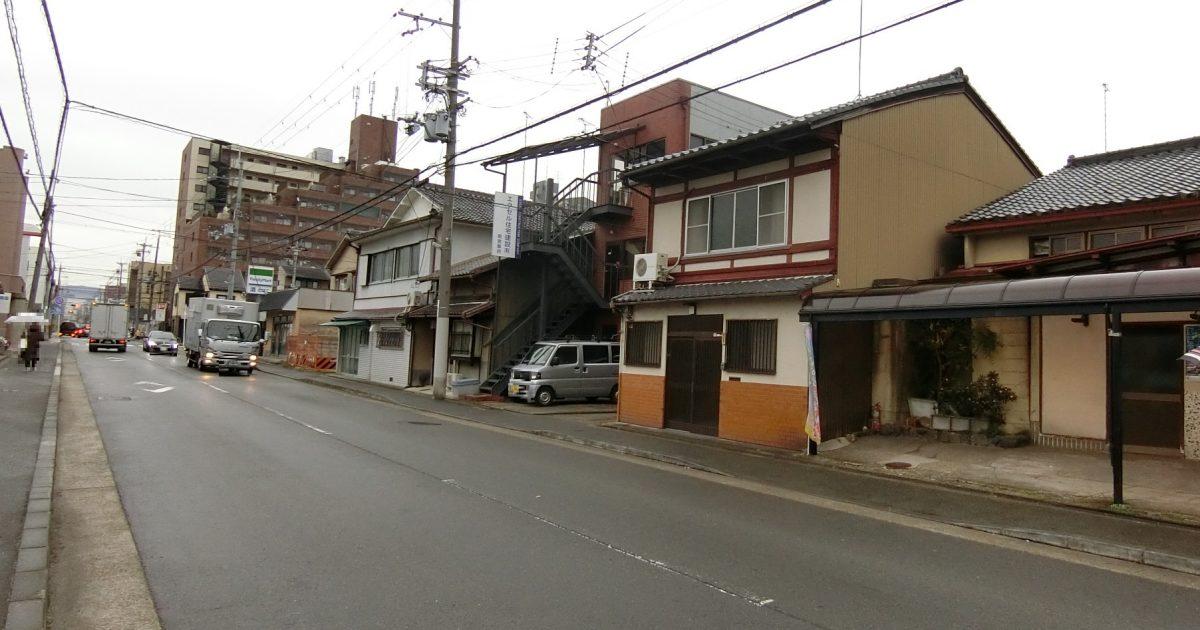 下京区_車道に面した中古戸建