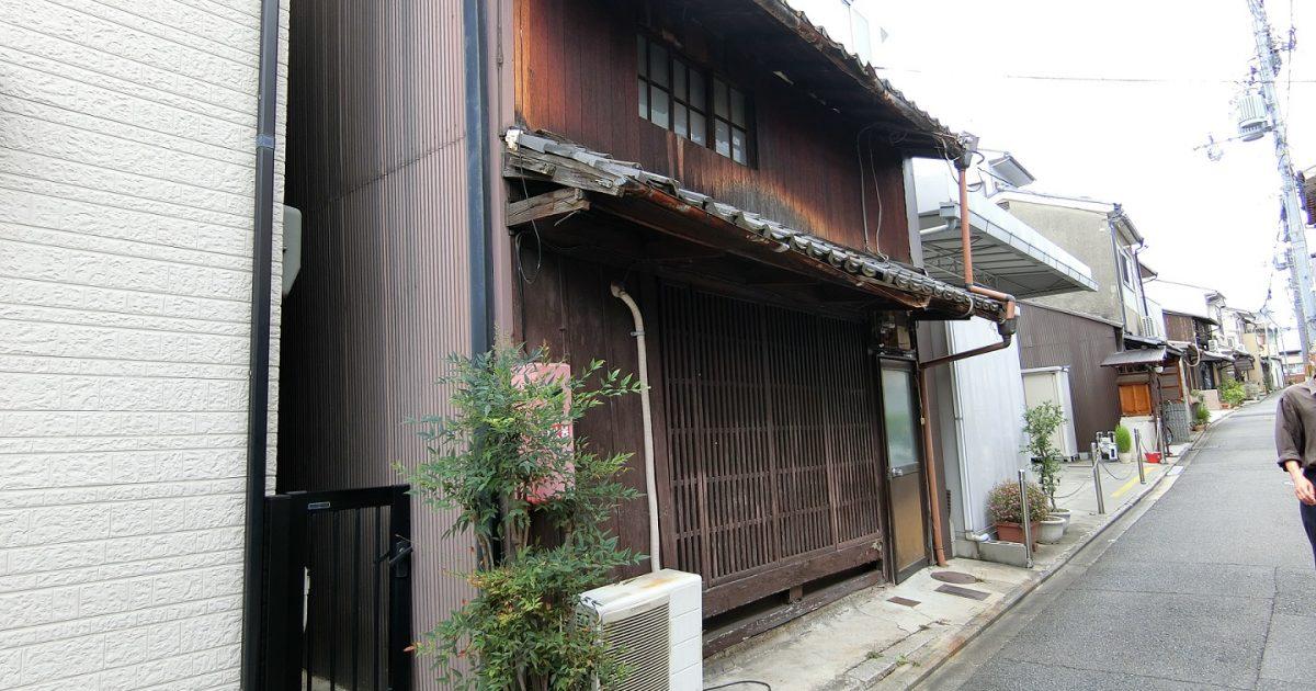 上京区_希少価値の高い織屋建て