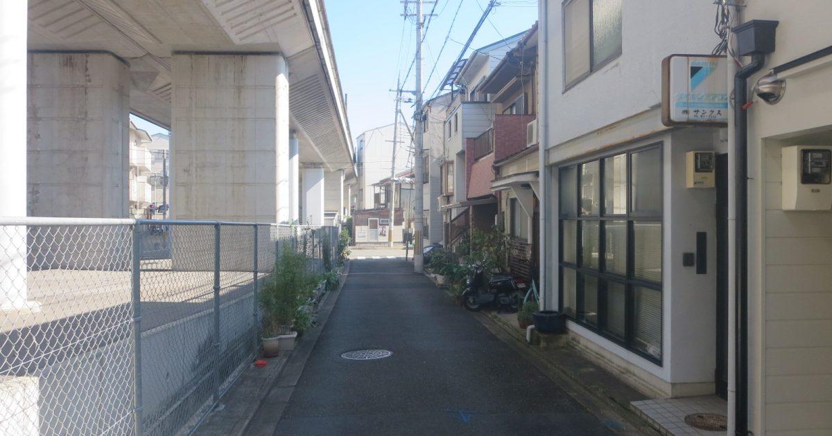 中京区_JR線沿いの中古物件