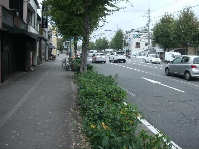 中京区_主要道路沿いの元京町家