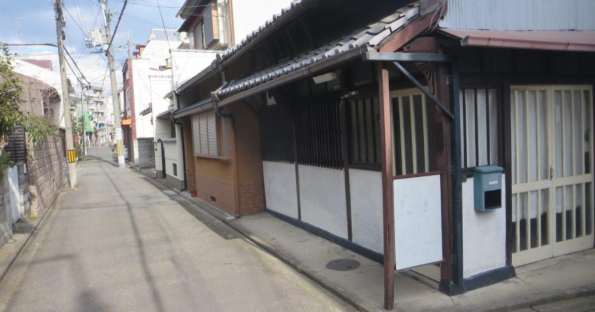 左京区_閑静な住宅地の角地