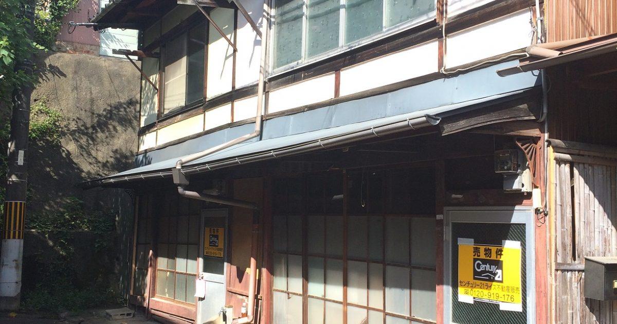 北区_廃屋同然の京町家(2軒分)
