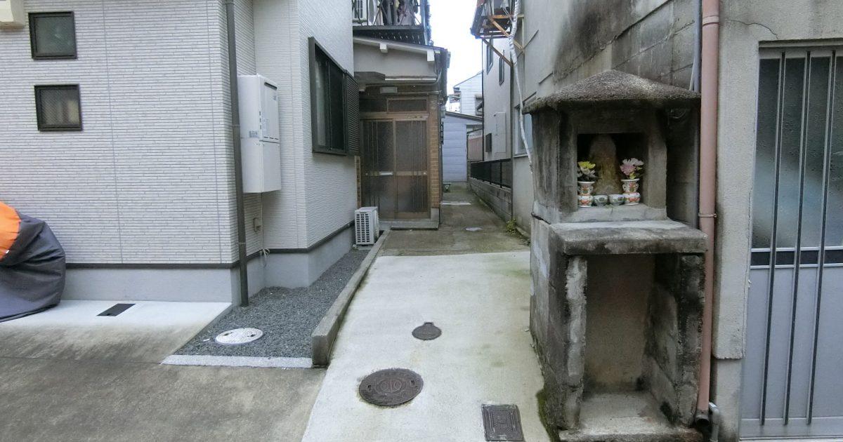 上京区_路地奥の物件(再建不可・程度良好)