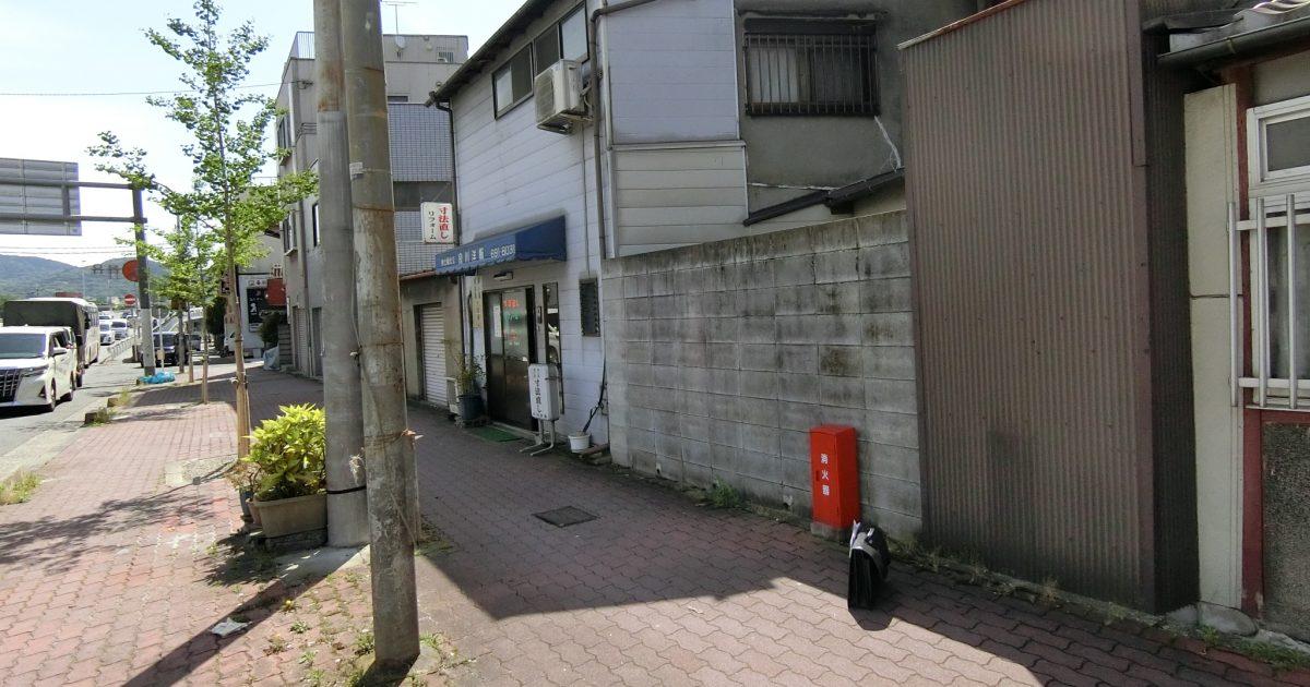 南区_大通りに面した老朽化激しい狭小京町家