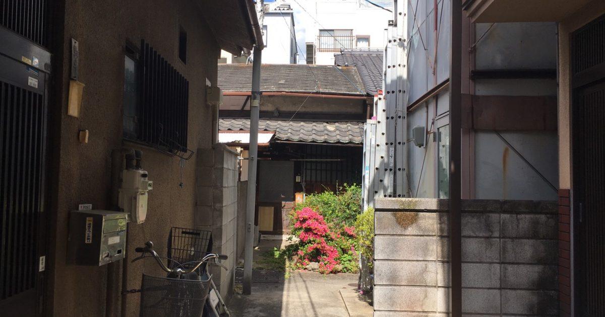 上京区_老朽化の激しい京町家