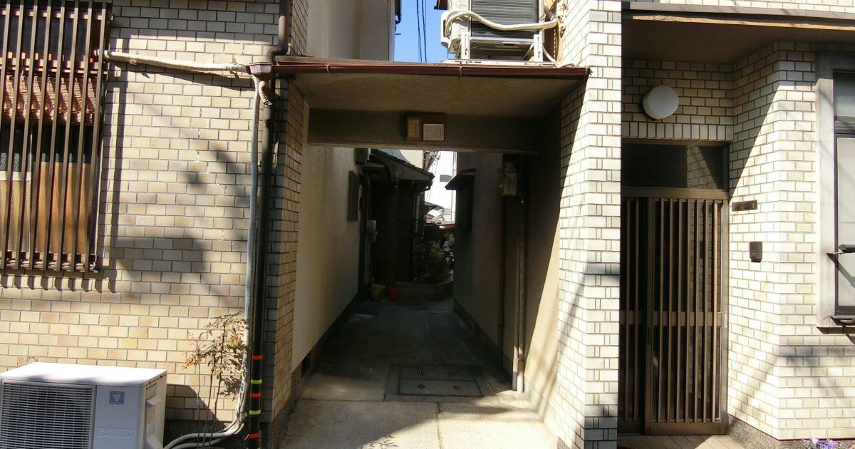 上京区_路地奥物件(再建築不可・築年数不詳)