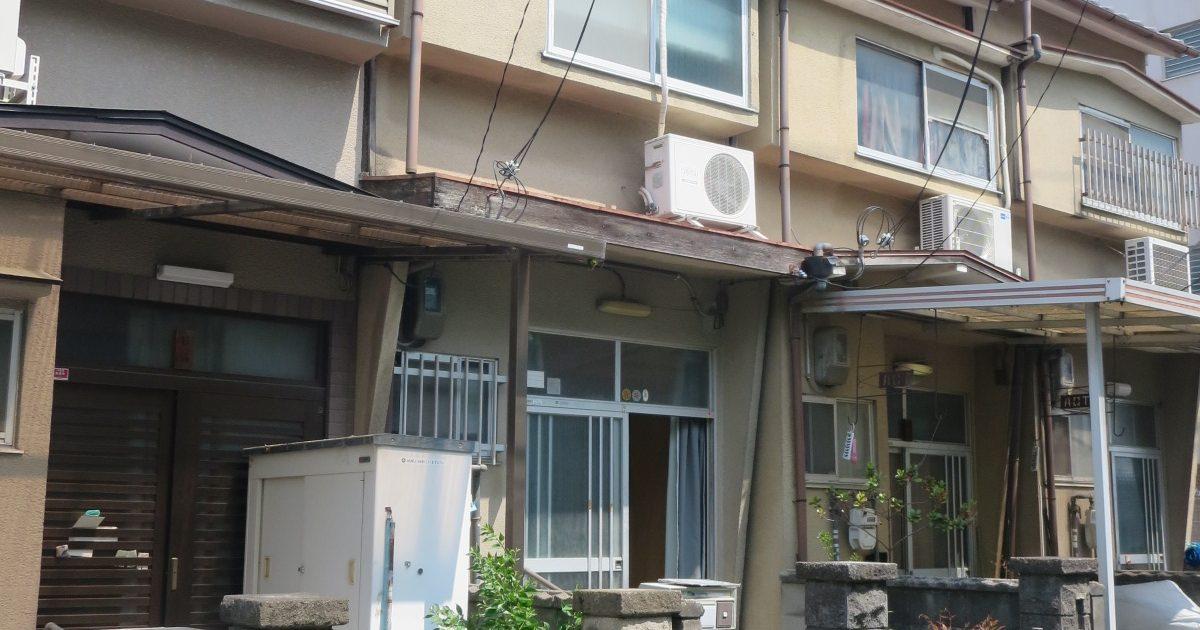 南区_狭い住宅
