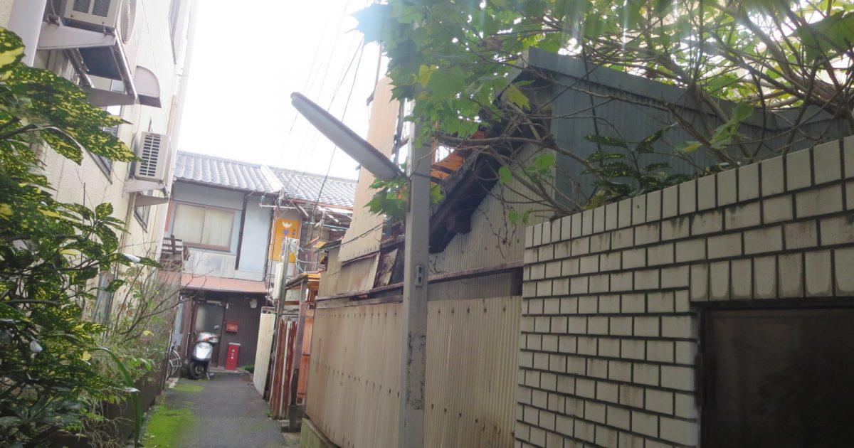 上京区_狭い小路にある物件