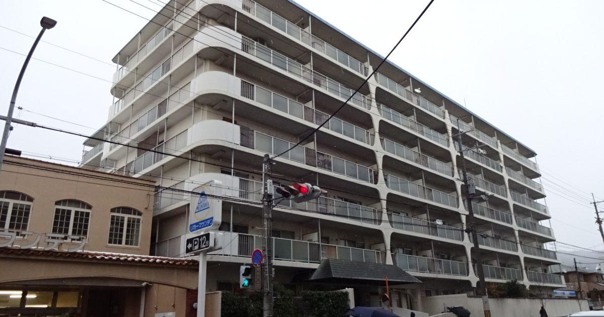 山科区_白いマンションの物件