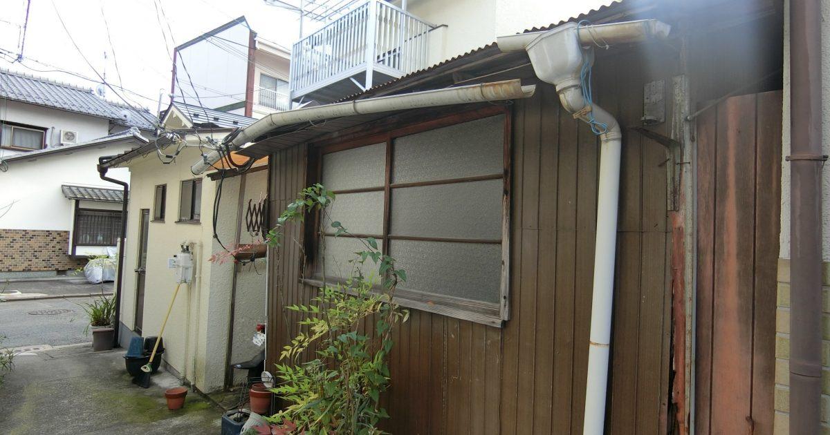 左京区_トタン屋根の物件