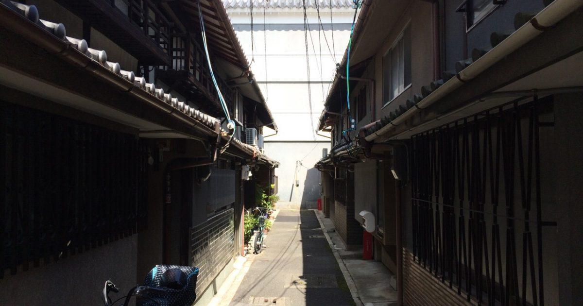 上京区_狭い道に面した物件