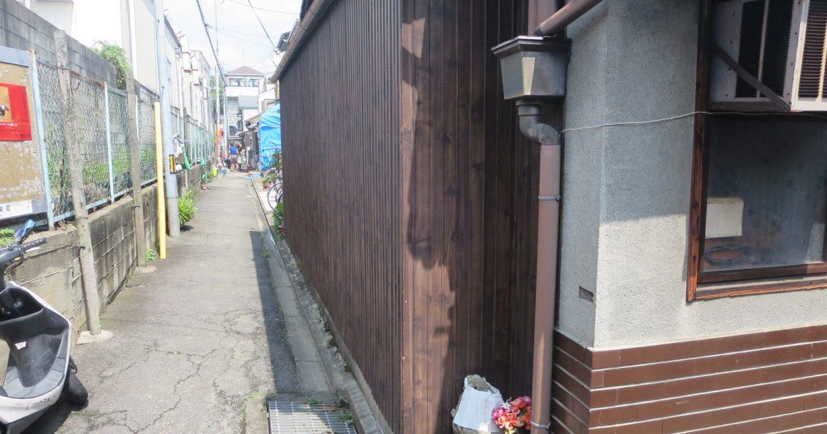 右京区_角地の木造住宅