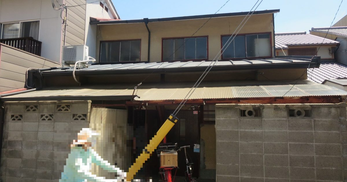 上京区_トタン屋根の物件