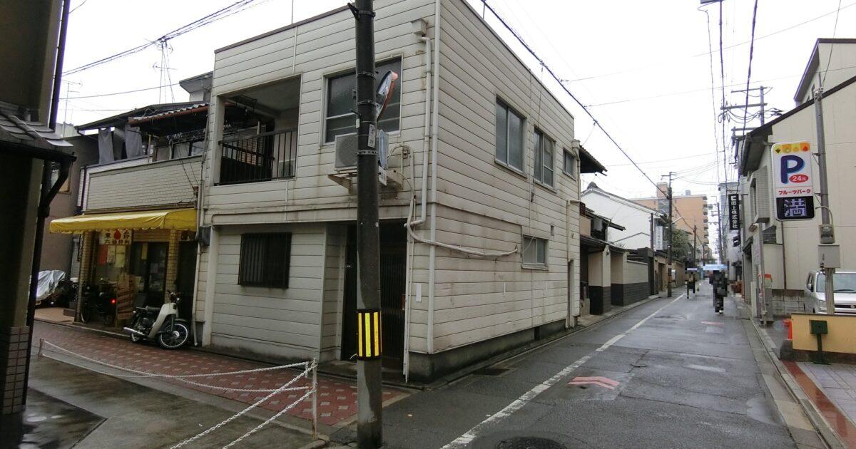 下京区_道路前の物件