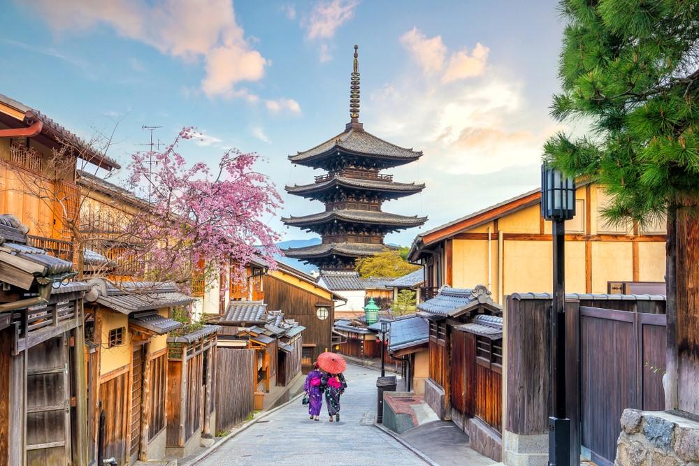 京都東山の風景